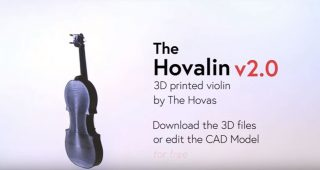 3d Printing Your Own Violin – Hovalin 3D printed violin