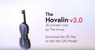 3d Printing Your Own Violin – Hovalin 3D printed violin