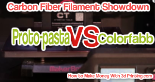 What is the best Carbon Fiber Filament – Proto-pasta VS colorFabb showdown